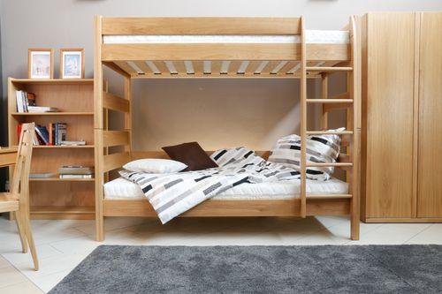 Poschodová posteľ DUB