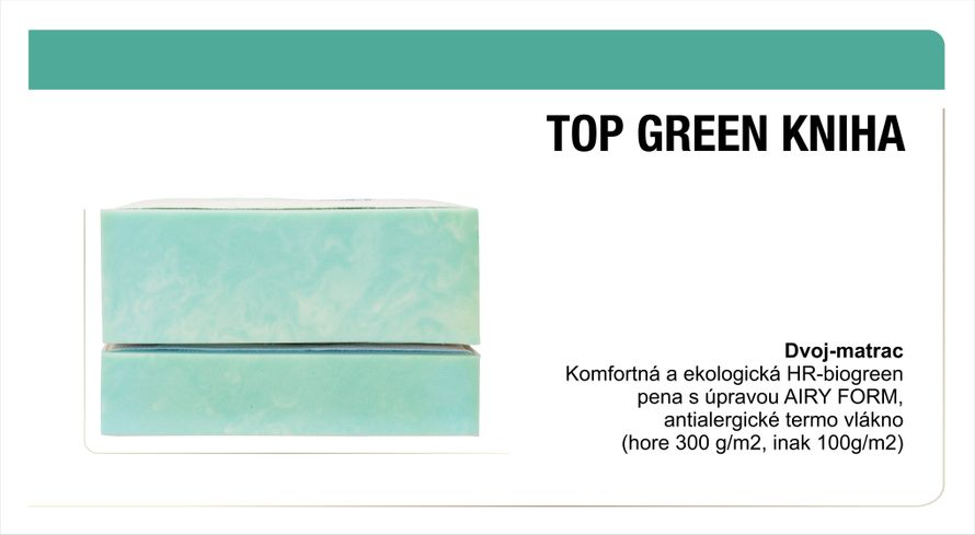 KNIHA-TOP GREEN